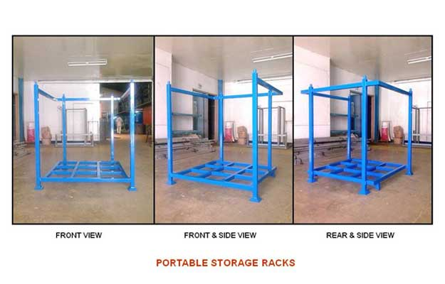 Attirant Portable Storage Racks. Copyright ...